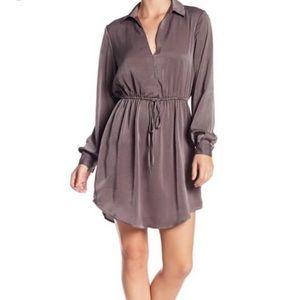 Lush Peyton Cinch Waist Dress Size Large